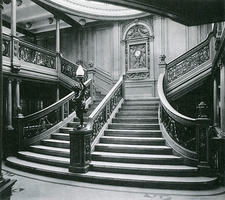 Grand Staircase of the Titanic
