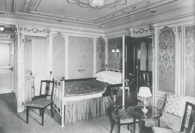 First class suite on the Titanic