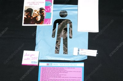 Male Chlamydia self-testing kit