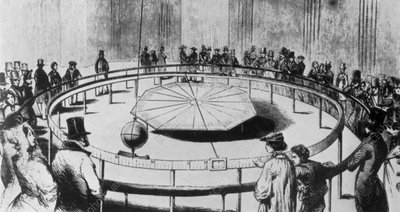 Foucault's pendulum in the Pantheon