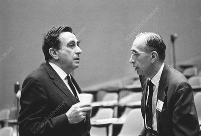 Teller and Breit, US physicists