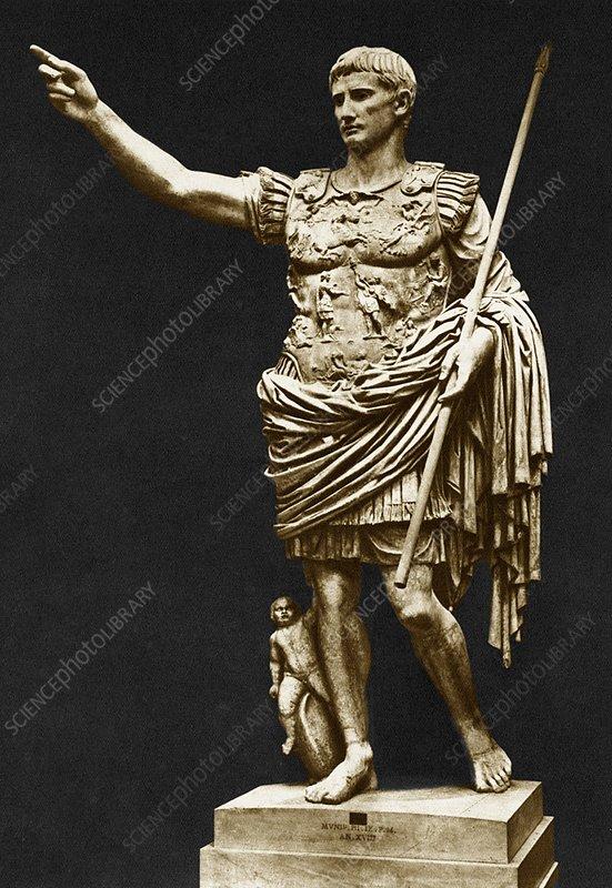 Emperor Augustus 27BC -AD14