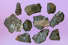 Aeschynite-(Y) samples