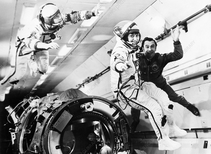 Cosmonaut weightlessness training