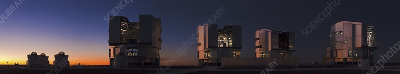 Very Large Telescope, Cerro Paranal