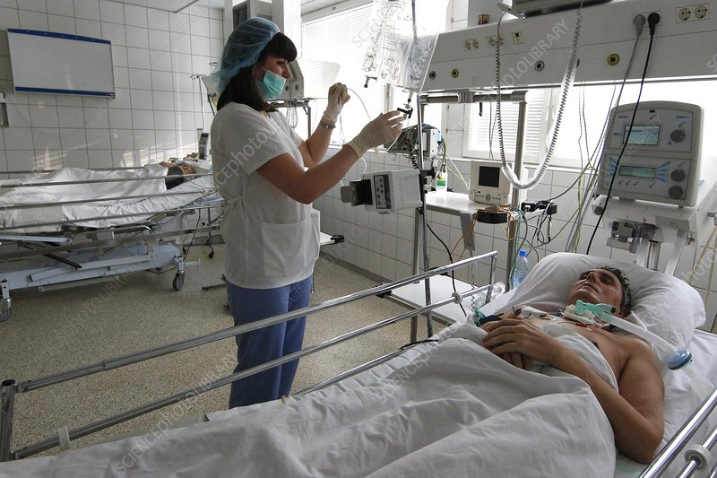 Intensive care unit, Moscow