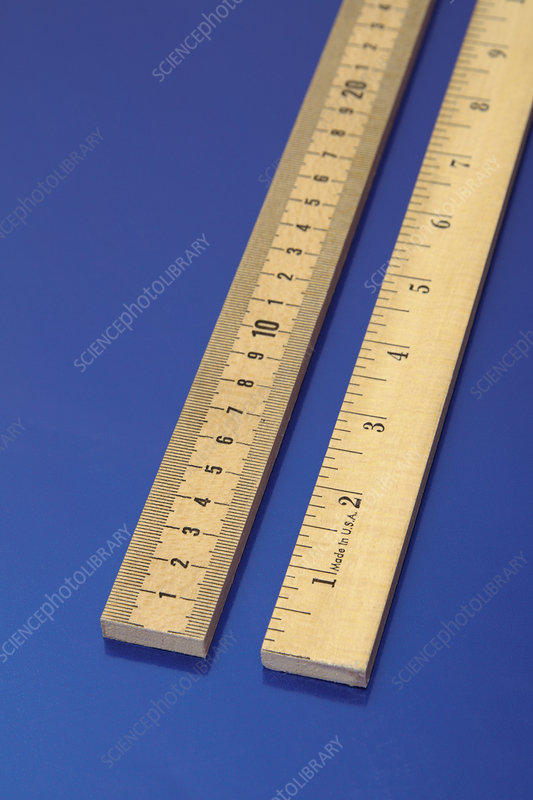 Metric and Imperial Rulers
