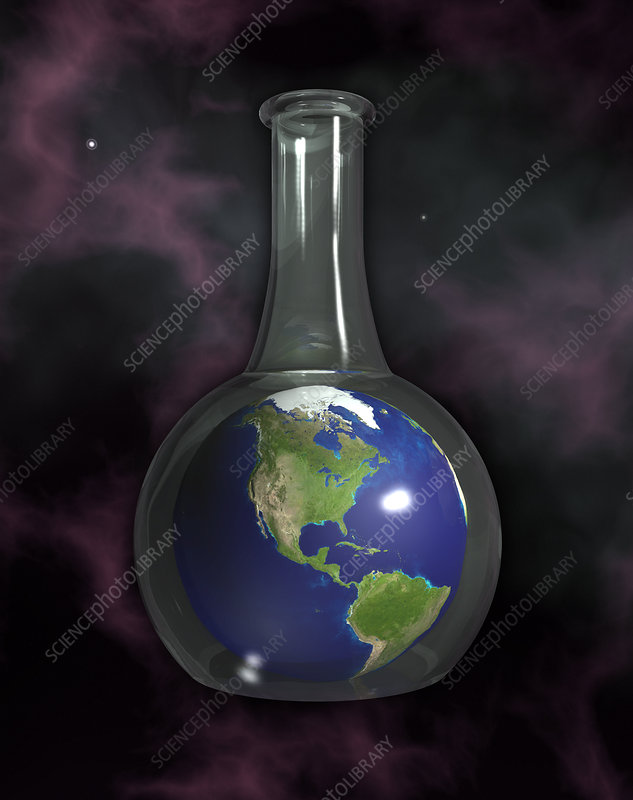 Earth In A Beaker