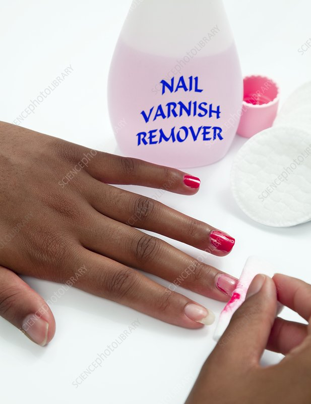 Nail varnish remover
