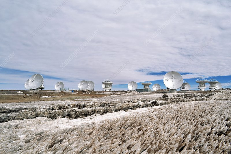 ALMA Array Operations Site, 2011