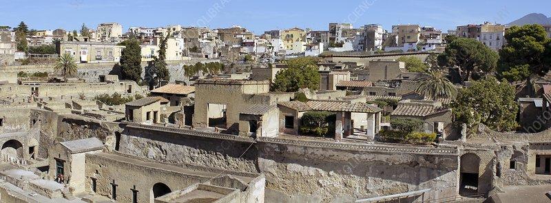 Roman city of Herculaneum