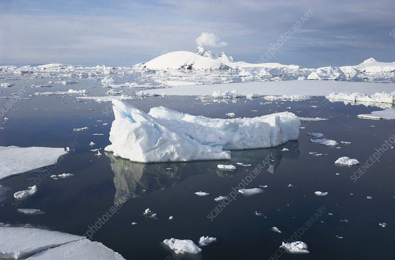 Ice in Antarctic Seas