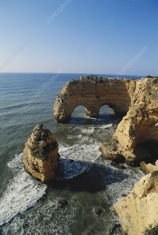 Natural Arches, Portugal