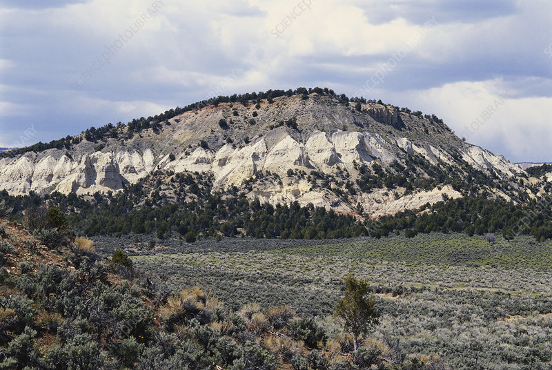 White Cliffs Grand Staircase Utah Usa