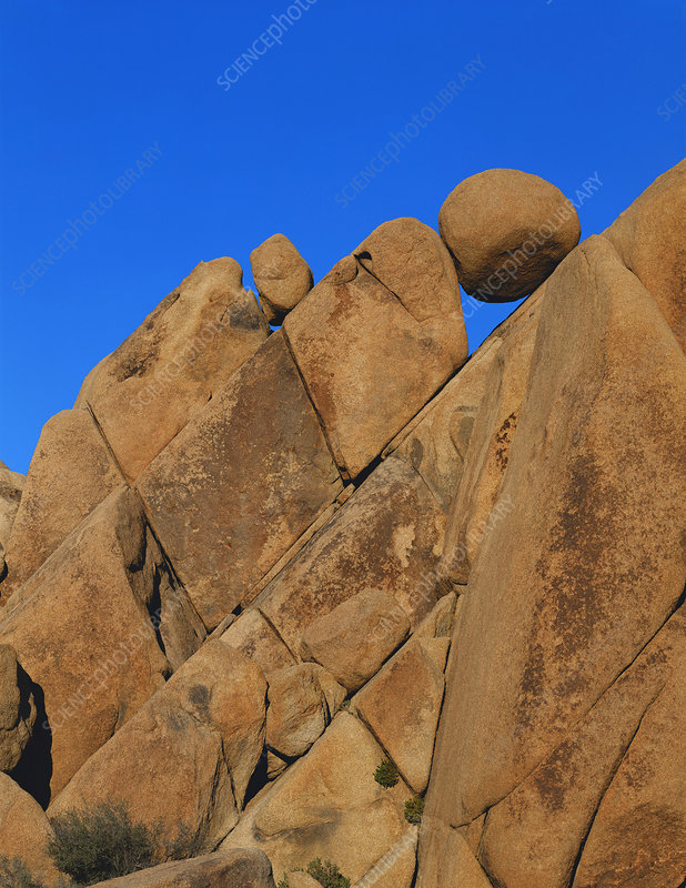 Boulders in Joshua Tree National Park USA