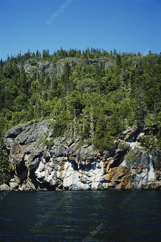 Basalt Cliffs, Lake Superior