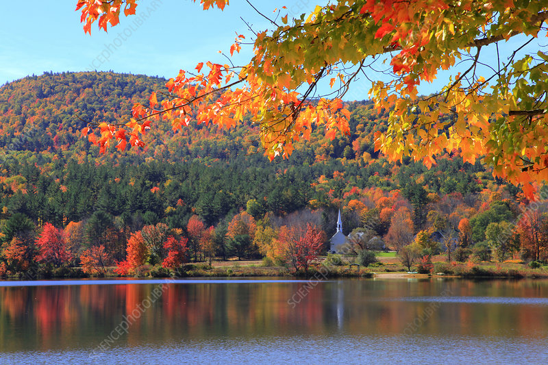 Crystal Lake, New Hampshire, USA