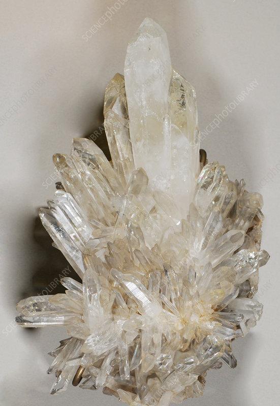 Quartz Crystals - Stock Image - C012/0750 - Science Photo ...Quartz Crystal Science