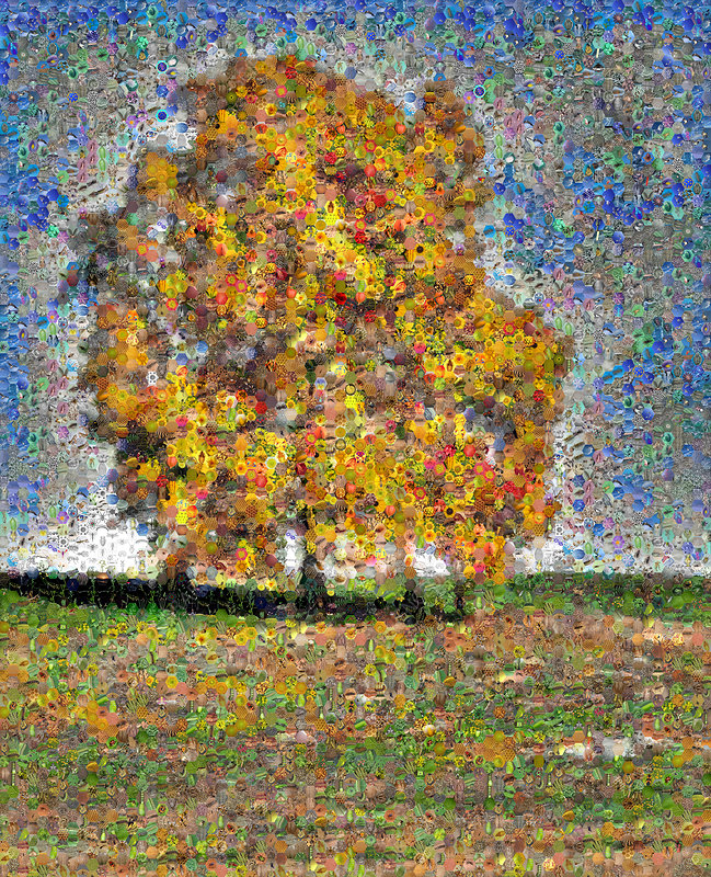 HIckory Tree Mosaic