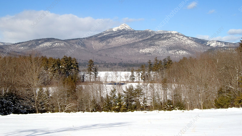 Mt. Chocorua in Winter