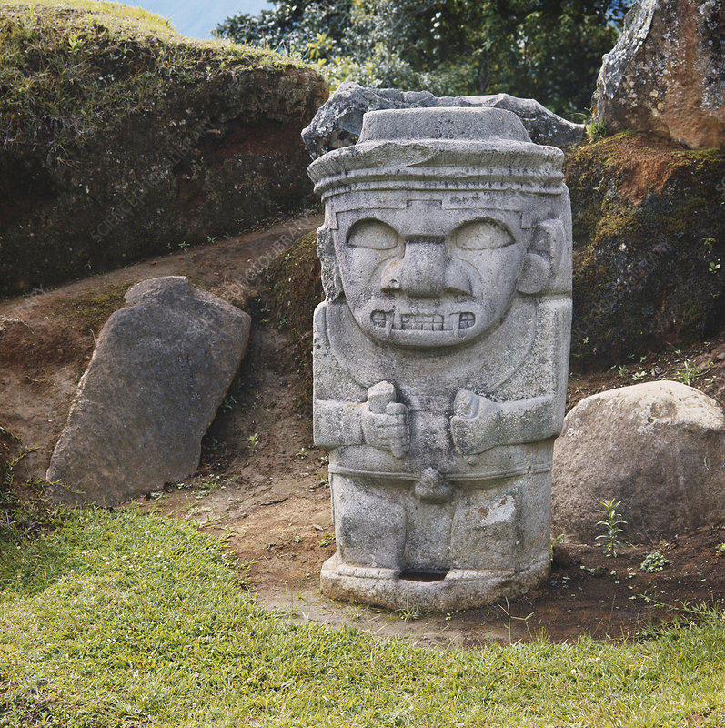 Stone Warrior, Colombia