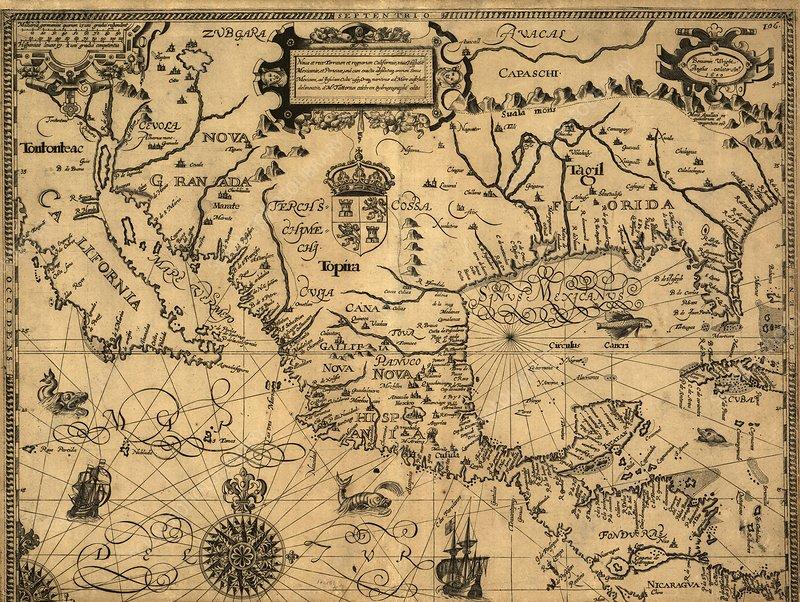 Spanish North America, 1600