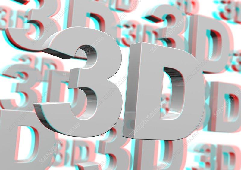 Stereoscopic 3D artwork