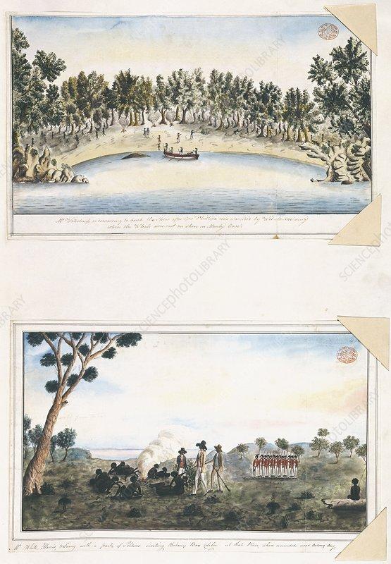 Australian colonisation, 1790