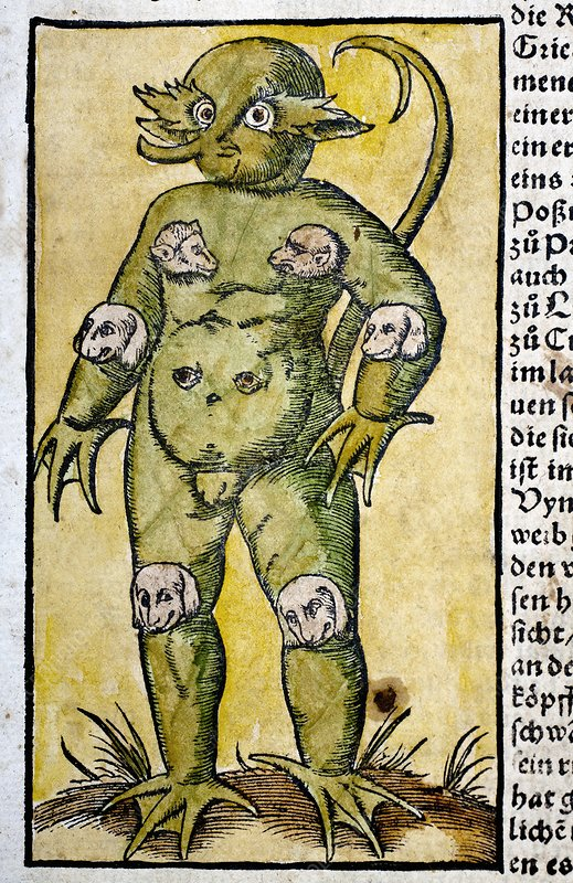 1560 Munster Krakow Monster chimaera