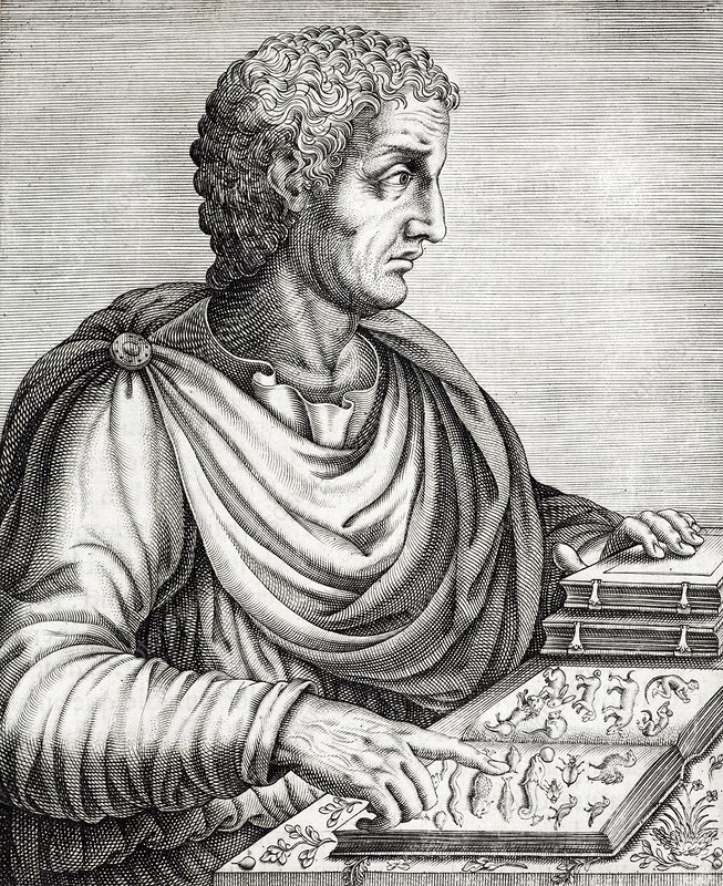 Pliny the Elder Roman Naturalist AD77