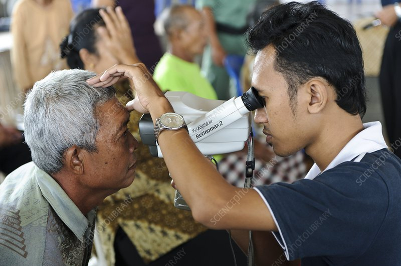 Eye clinic, Bali