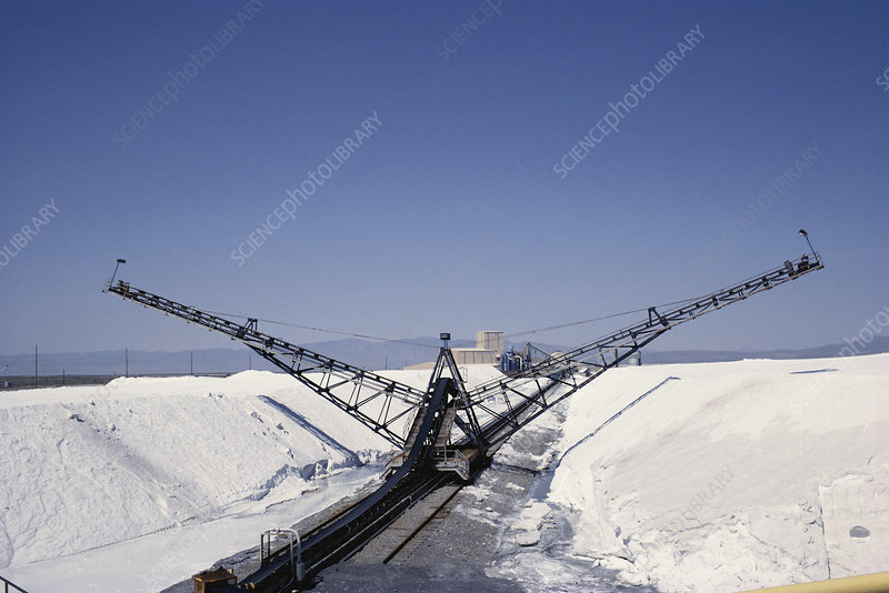 Salt Production, Utah, USA