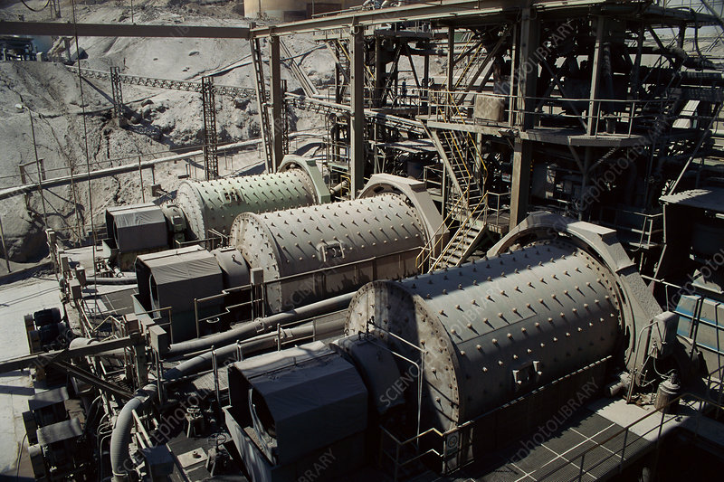 Crusher at Copper Refinery, Chile