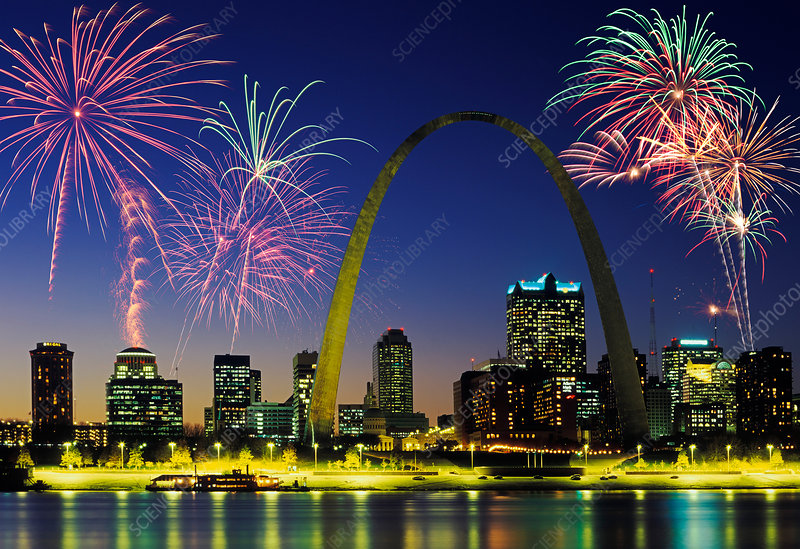 St. Louis Skyline, USA