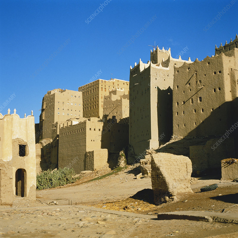 Traditional Houses, Yemen