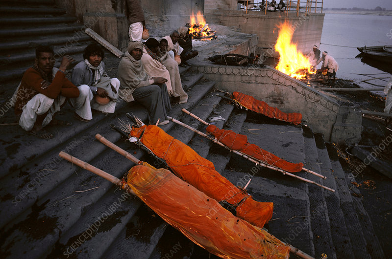 Cremation Ceremony, India