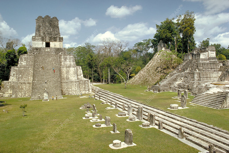 Temple II and Great Plaza