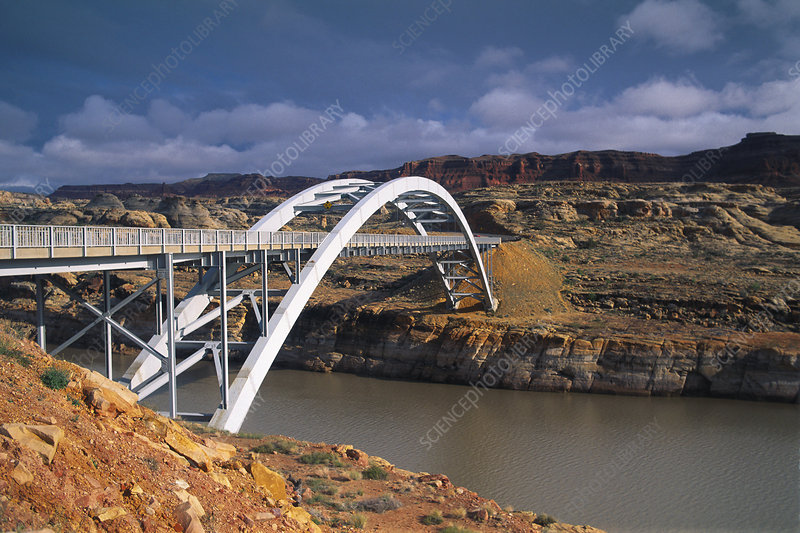 Bridge Over Colorado River, USA