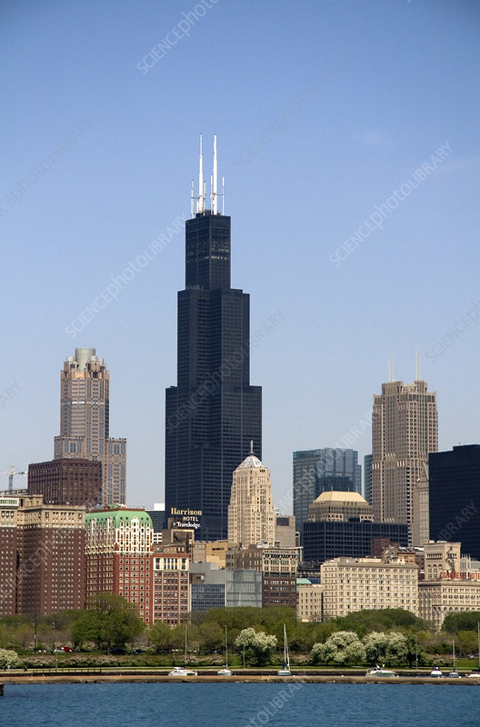 Willis Tower formerly Sears Tower, USA