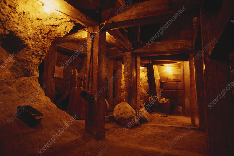 Historic Gold Mine, Nevada, USA