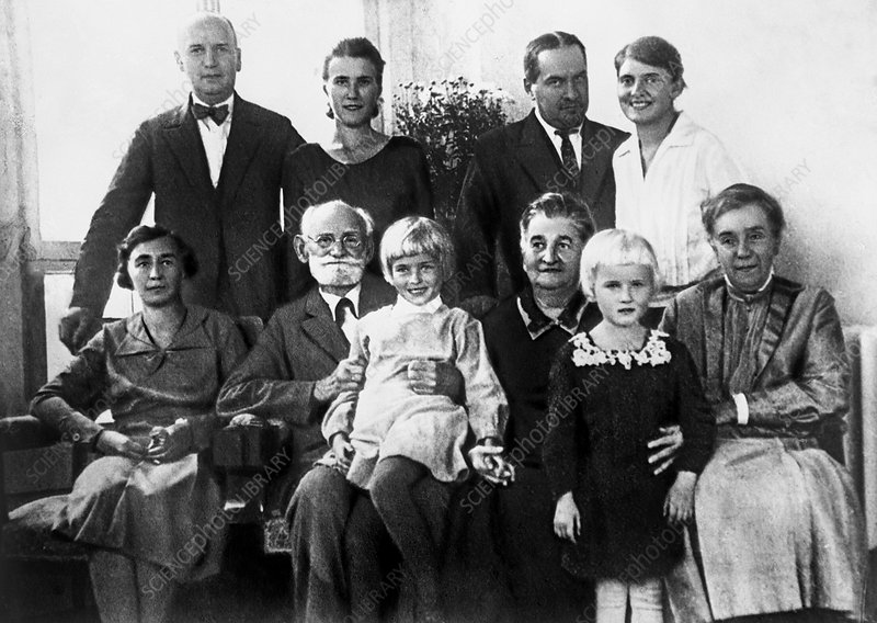 Ivan Pavlov with his family