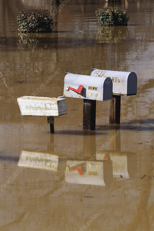 Flooded Mailboxes