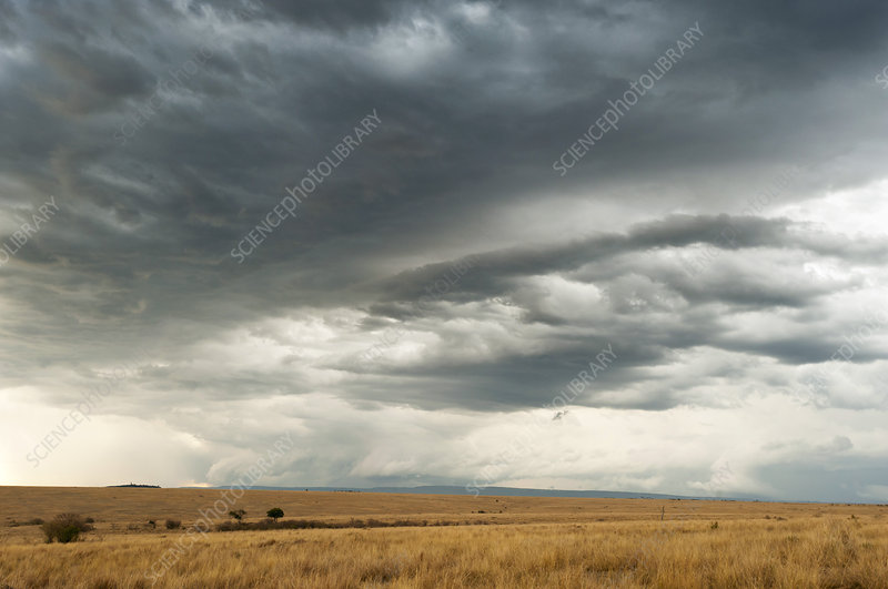 Clouds over Maasai Mara, Kenya