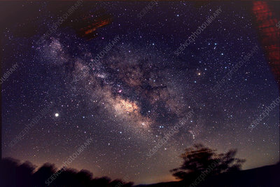 Milky Way, Sagittarius and Scorpius