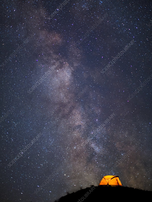 Tent and Milky Way