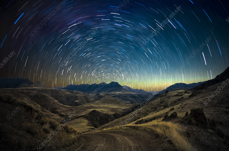 Imnaha River Canyon and Star Trails