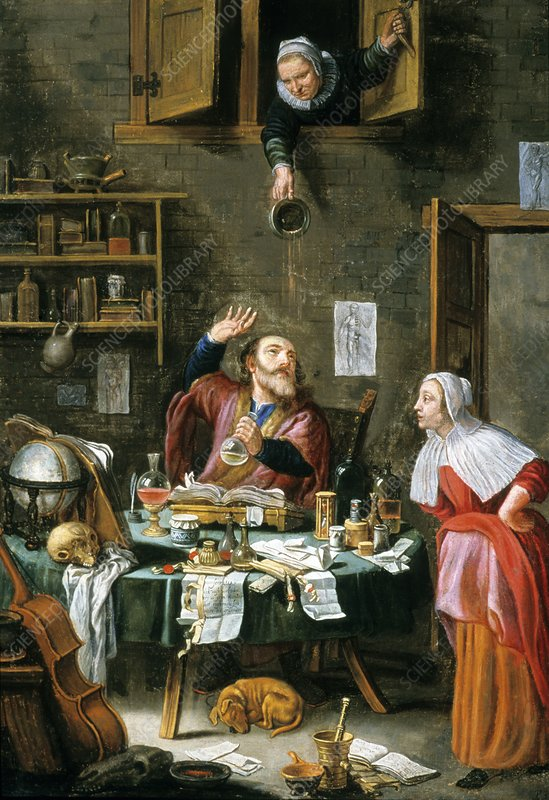 Medical alchemist, 17th-18th century