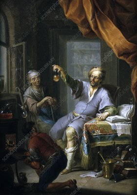 Medical alchemist, 18th century