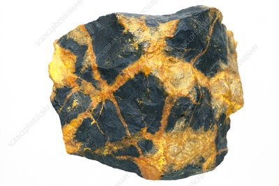 Uraninite bearing minerals