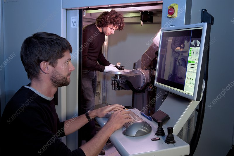 Fossil microtomography scanning